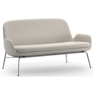 Era-2-Seater-Sofa-Beige-Chrome