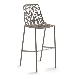 FOREST bar stool - large - Pearly gold