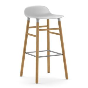 Form-Barstool-75cm-Oak-White-Normann