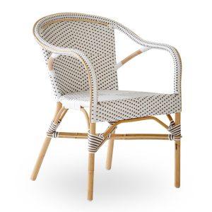 Madeleine-chair-white-with-capapuchino-dot