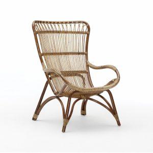 Monet chair - rattan - antique