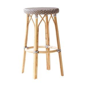 Simone-bar-stool-cappuchino-white-dot