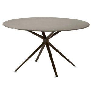 Moai-Round-aluminium-dining-table-outdoor