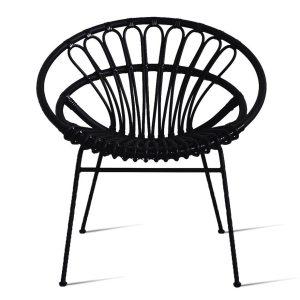 Roxanne-lazy-chair-black