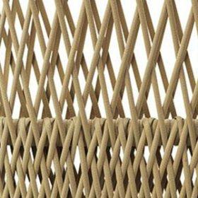 Natwick Sand Beige Wide Weave